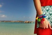 Statement sieraden | handgemaakte armbanden | etnische grafische look - gaaf kado voor haar
