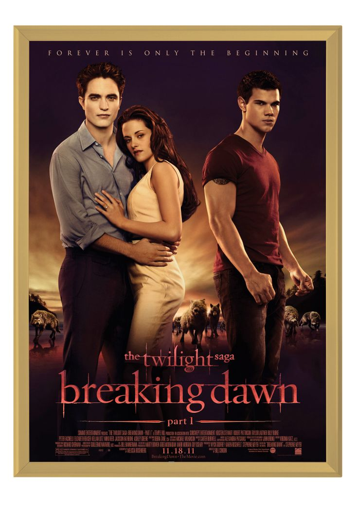 Twilight in our Gold Movie Poster Frame #Advertising
