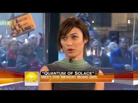 Olga Kirilenko on Today Show-Sky Fall