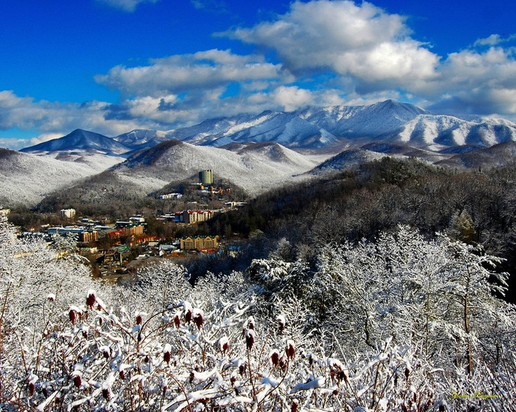 Gatlinburg Winter-