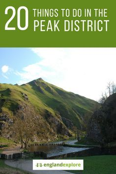 The Peak District, an upland area of Derbyshire, Northern England offering stunning views of hills, dry stone walls and pretty villages nestling in valleys.