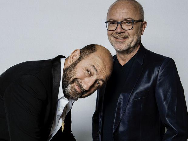 Kad & Olivier C'KDO : fâchés une seule fois en 25 ans d'amitié [Interview]  Kad & Olivier C'KDO : fâchés une seule fois en 25 ans d'amitié Vous voilà de retour à la télé pour parodier la télé.