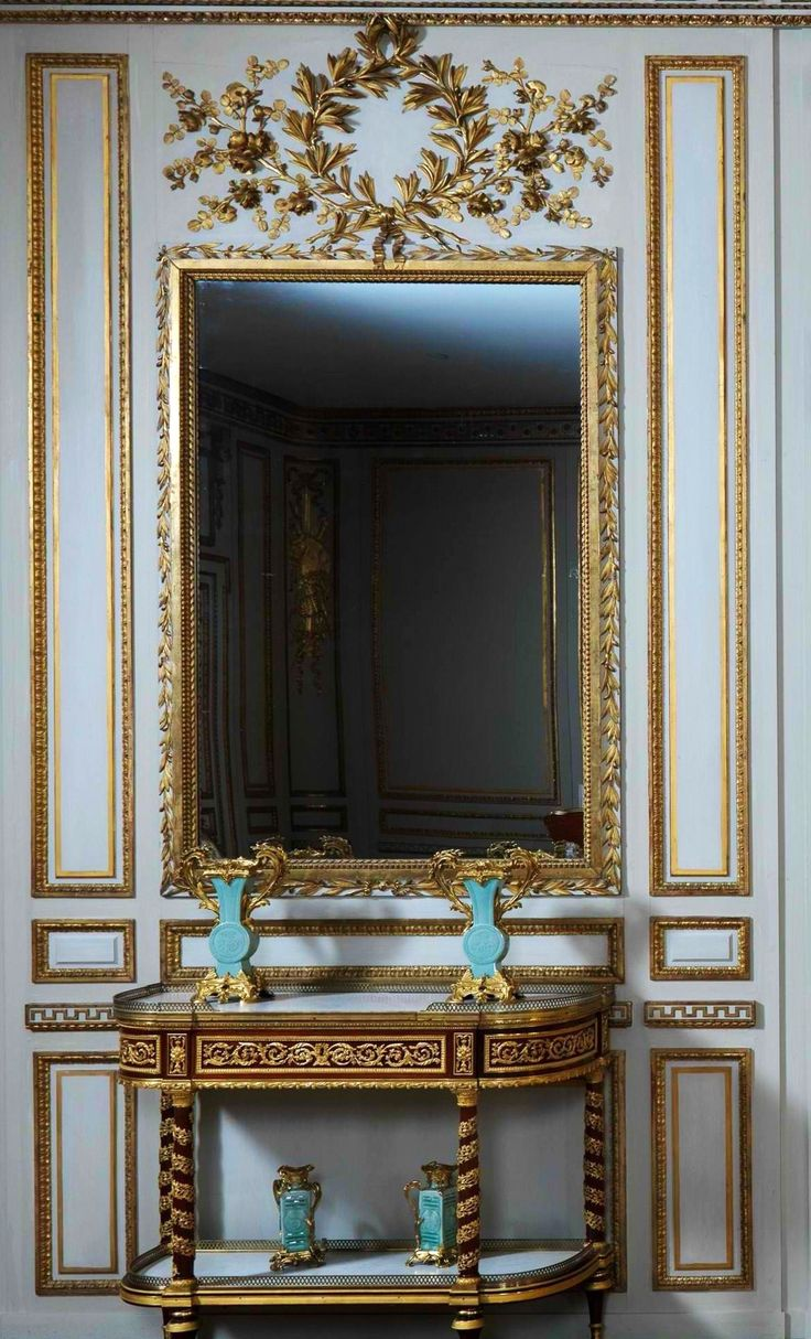 Detail from a room in the Metropolitan Museum Anichkov Palace, St. Petersburg