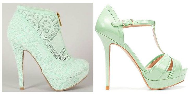 #shoes #scarpe #menta #mint #matrimonio #wedding