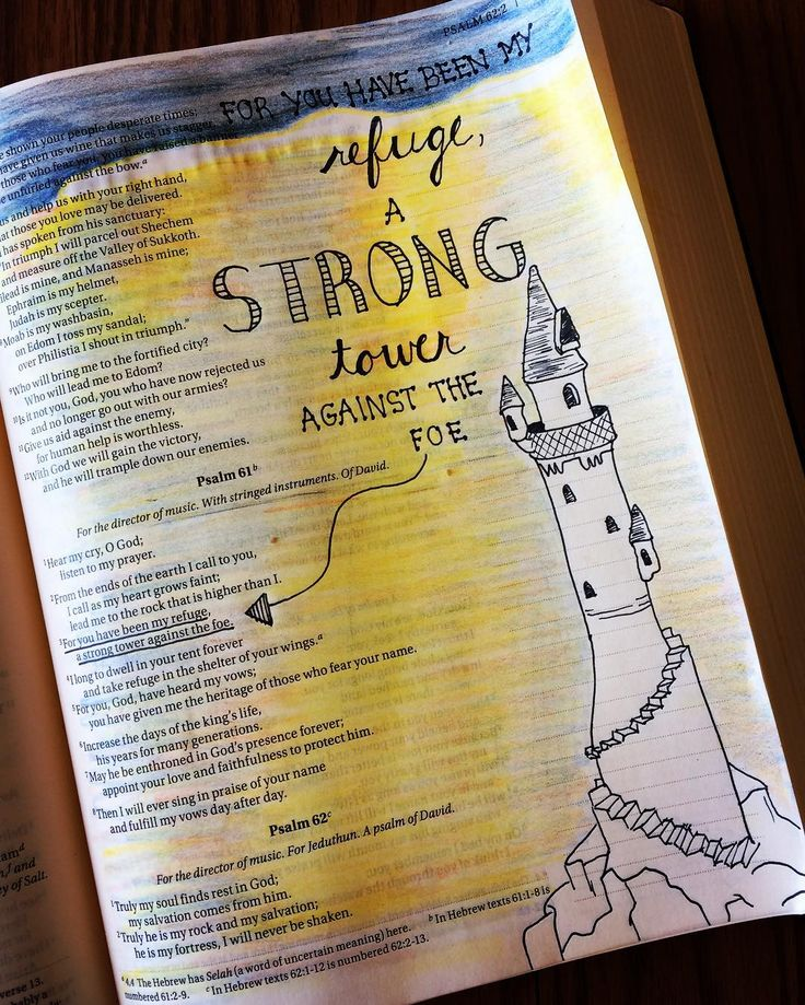 Day 3: Psalm 61:3 - we all weather our own storms.  Sometimes they are full…