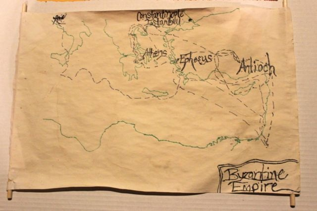 Half-a-Hundred Acre Wood: Byzantine Empire & Paul's Missionary Journeys//CC Geography Fair