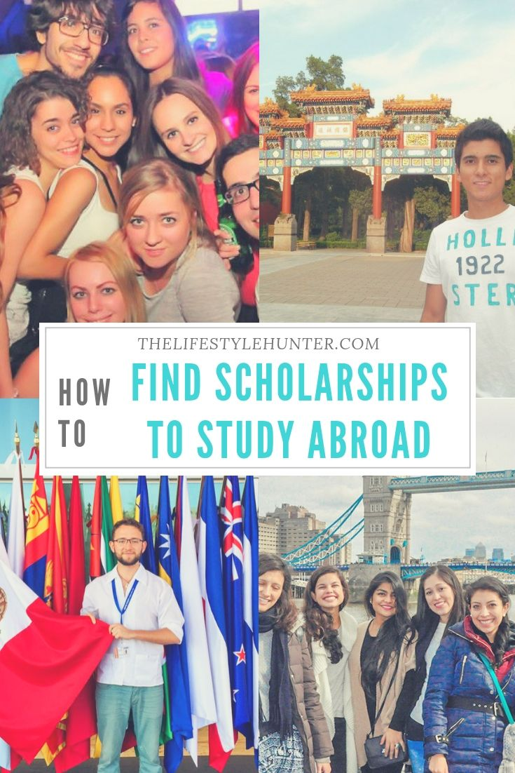 How to find scholarships to study abroad | Female Bloggers