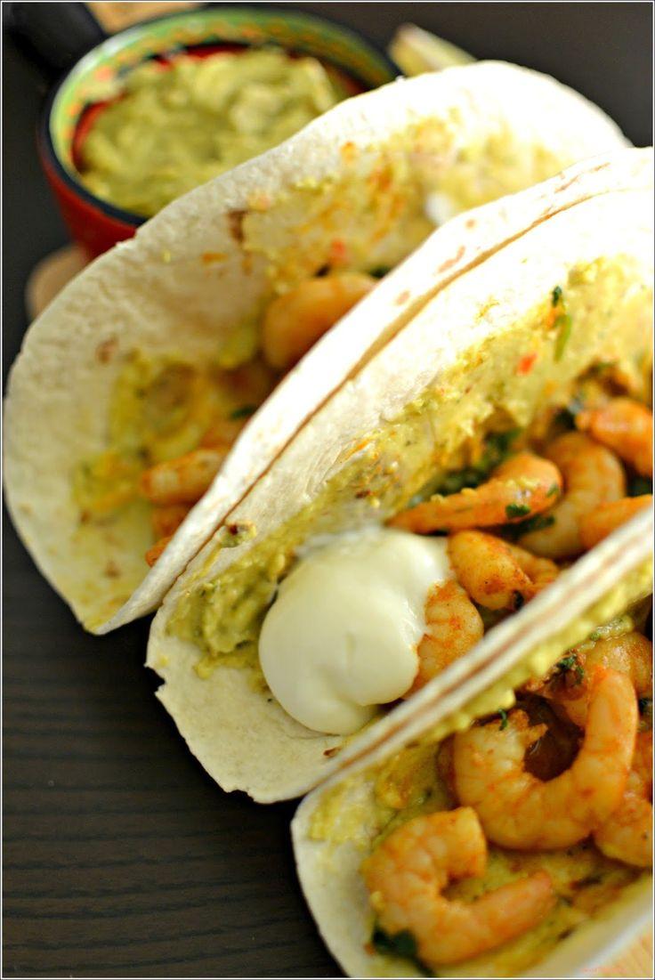 Tacos de camarão - http://gostinhos.com/tacos-de-camarao/