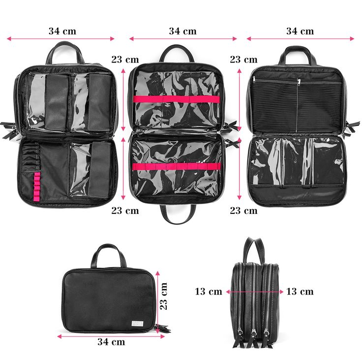 Zoeva Makeup Tote Zoe Bag // Has compartments for blush, powders, palettes and also for brushes! Great for traveling, of course, but also for makeup artists on a smaller job where a ton of products aren't needed.