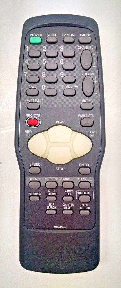 Orion 07660CG020 Original TV/VCR Combo Remote MVT2136, TVCR1320, VT1975, MVT2140 #Orion