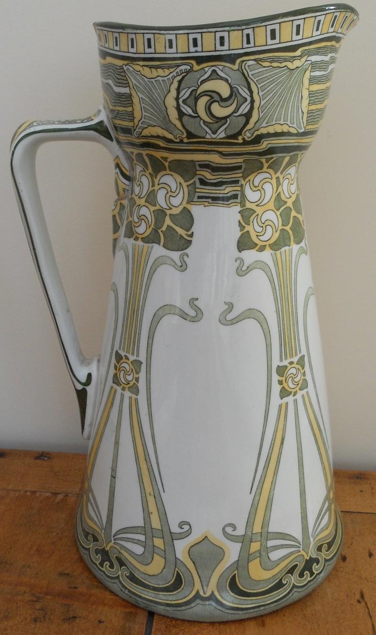 31 best vases mainly vintage images on pinterest jars my ebay large antique art nouveau royal doulton pitcher reviewsmspy