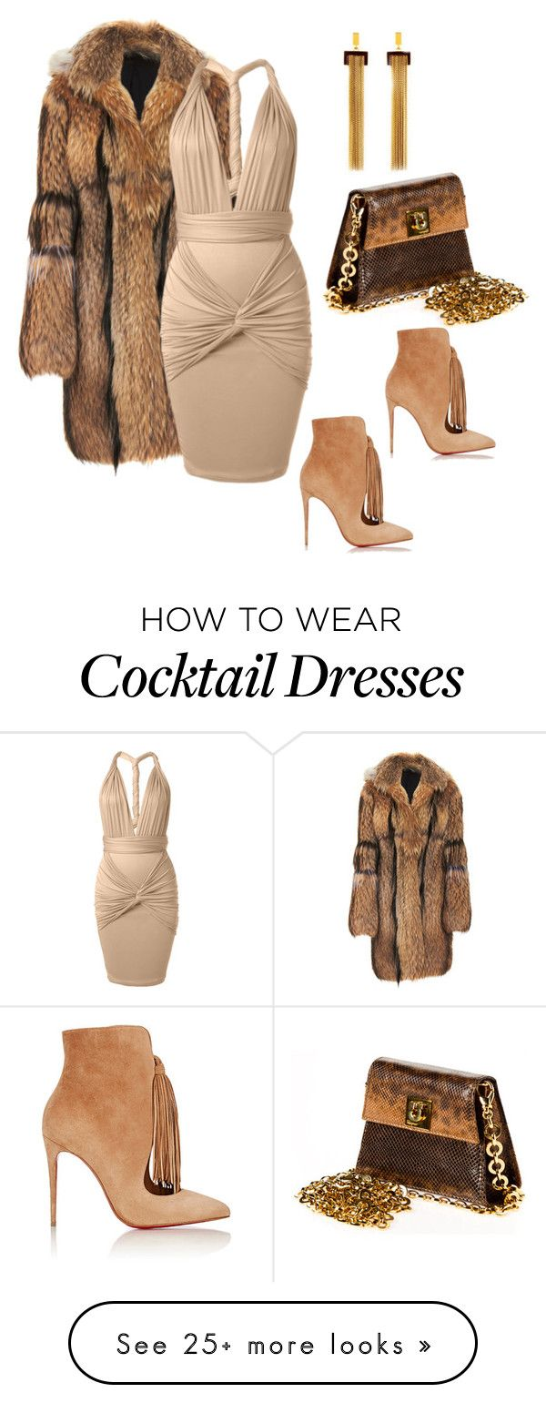 """Untitled #237"" by sanchez-drummond on Polyvore featuring Altuzarra, Salvatore Ferragamo, Chloé and Christian Louboutin"