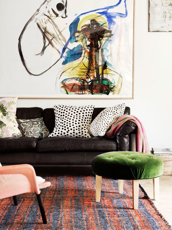 Kärleken till det lilla nybyggda huset i Västra Hamnen i Malmö fick Hanne och Hans att lämna den nyrenoverade lägenheten och kasta sig in i ett nytt projekt. Här har de allt de önskar sig:...