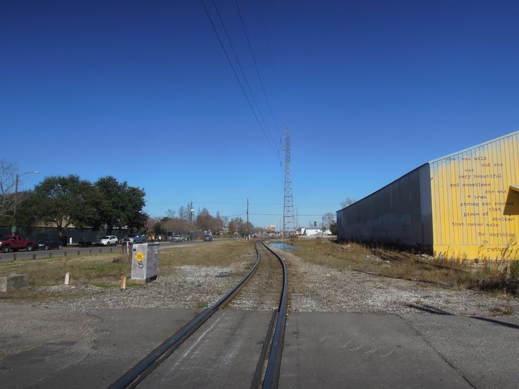 Train Tracks. Marigny/Bywater. New Orleans