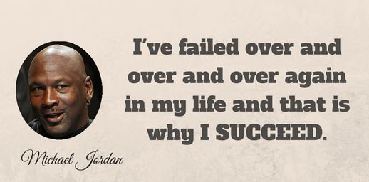 Have NO fear of #failure.