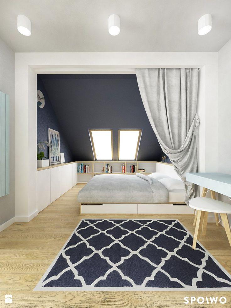 Przytulna sypialnia - zdjęcie od SPOIWO studio
