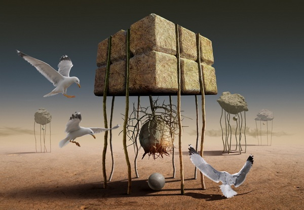 Digital Art by Radoslav Penchev | Cuded --- Radoslav Penchev is a graphic designer and photographer from Bulgaria, Nessebar. Radoslav starts with simple photos and created interesting series of digital artwork. The whole picture looks wonderful, giving a sense of surrealism.