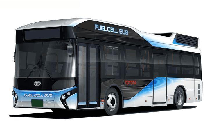 Toyota ha anunciado que a principios de 2017 empezarán a rodar en Tokio sus nuevos autobuses impulsados por hidrógeno, un centenar de vehículos puestos en