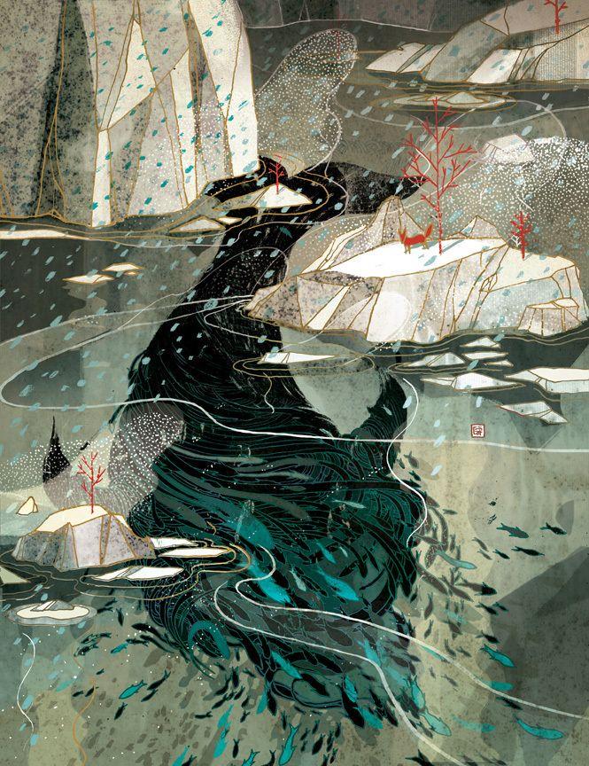 Victo Ngai - Treacherous Waters