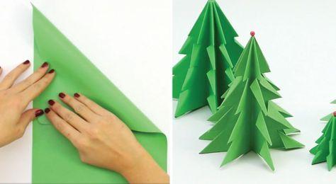 Bist du auf der Suche nach einer tollen, günstigen Idee für Weihnachten? Wir haben eine tolle Weihnachtsidee für dich, die man selber oder mit den Kindern machen kann. Das einzige, was man benötigt ist ein Blatt A4 Papier und eine Schere. Da es ein Christbaum ist, ist es natürlich am besten, wenn das Papier grün …