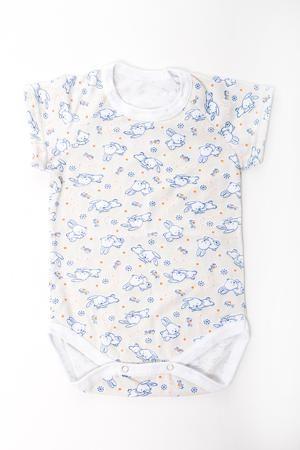 LacyWear Полукомбинезон DGD(8)-MEL  — 250р. -------------------- Хлопковое боди для новорожденного  Цвет: молочный, голубой и др.  Размер соответствует росту ребенка