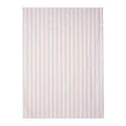 Tissu teint sur fil : le motif se voit aussi bien sur l'envers que sur l'endroit.