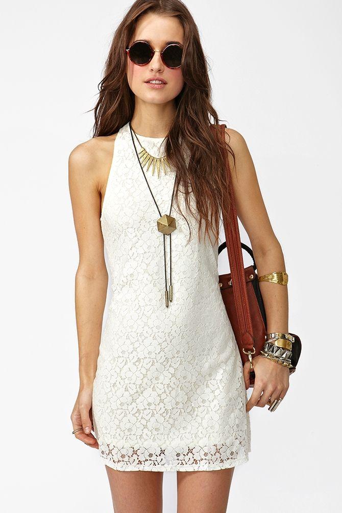 #white #lace #dress ☮k☮