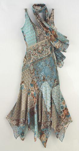 Farb-und Stilberatung mit www.farben-reich.com - http://www.midnightvelvet.com/Nicolette-Dress-And-Scarf-Set.pro?omSource=SLI