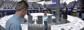 Parlamentarium, the European Parliament Visitors' Centre.