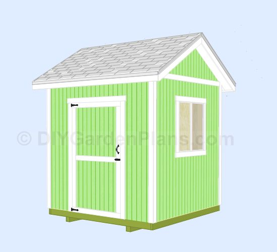 25 best ideas about 8x8 shed on pinterest storage for 8x8 house plans