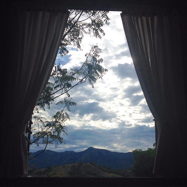 My view from bed >> #home #landscape #Colombia