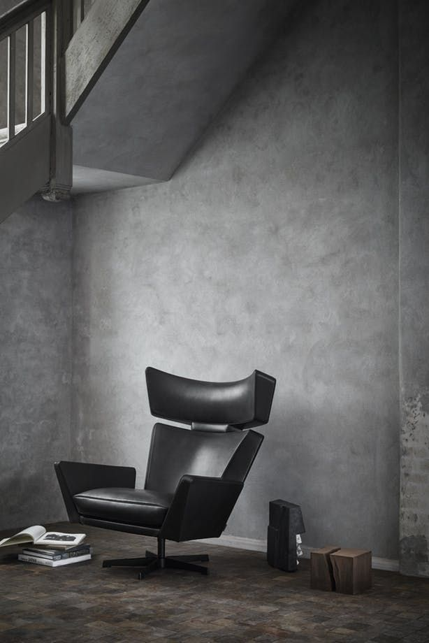 """The Ox"" from the great Danish designer, Arne Jacobsen, have been relaunched by Fritz Hansen."