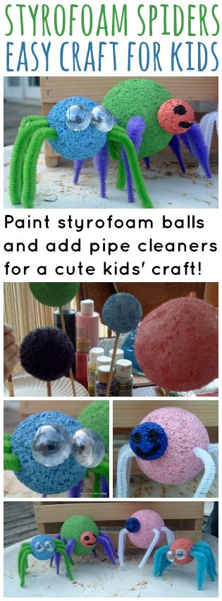 how to make styrofoam cabinets