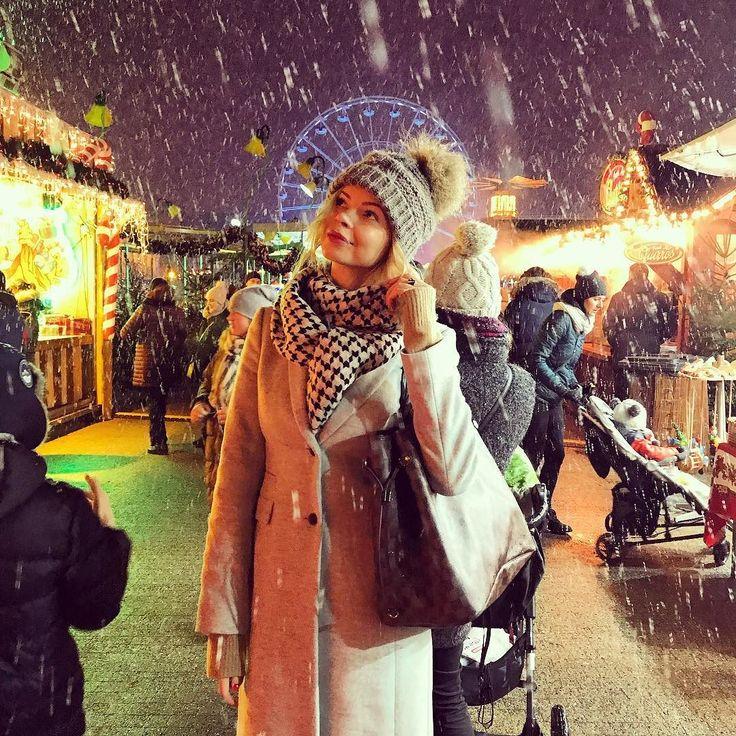 #poznań #polishgirl #blondegirl #selfie #ootd #dailyootd #snow