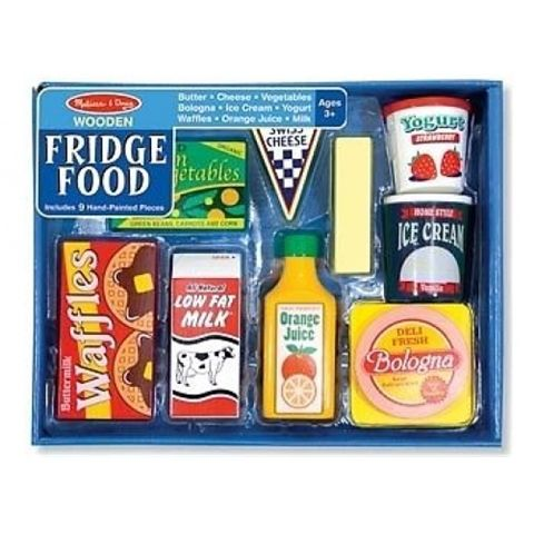 M&D WOODEN Fridge Food Play Set by MELISSA AND DOUG Available at Kids Mega Mart Shop Australia