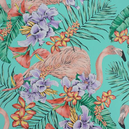 Matthew Williamson - Flamingo Club Wallpaper - W6800-01