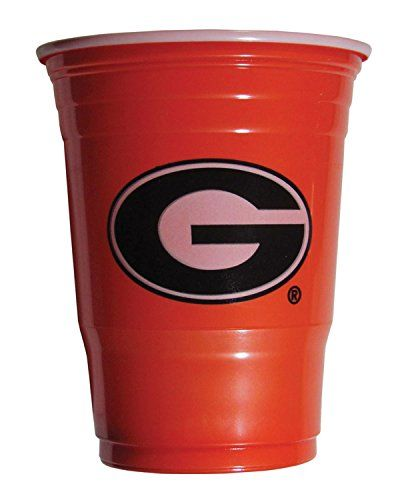 NCAA Sports Team Georgia Bulldogs Plastic Game Day Cups * You can find out more details at the link of the image. (This is an affiliate link and I receive a commission for the sales)