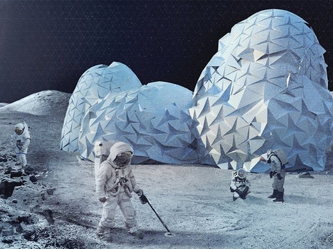 Could This Be What a Home on the Moon Looks Like?