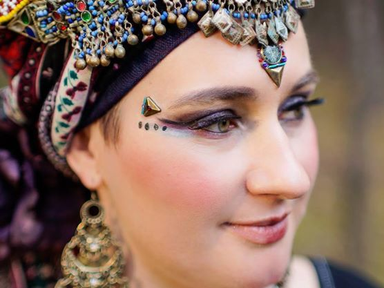 dancer: Marta from Kachina Tribal Bellydance, fot. Adam Kliczek Photography, bindi: https://www.facebook.com/tribal.bindi