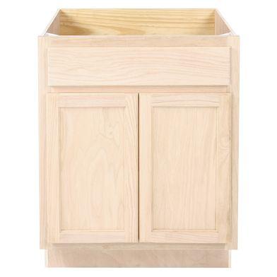 Unfinished Bathroom Vanity Sink Base Cabinet 27