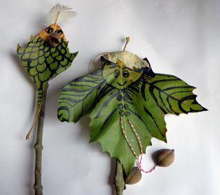 DIY van bladeren