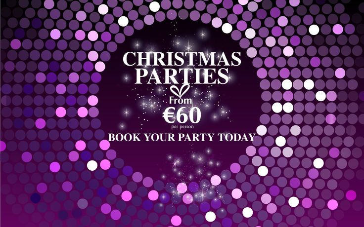 Christmas Party Dublin | Christmas Party Venue Dublin | Talbot Hotel Stillorgan
