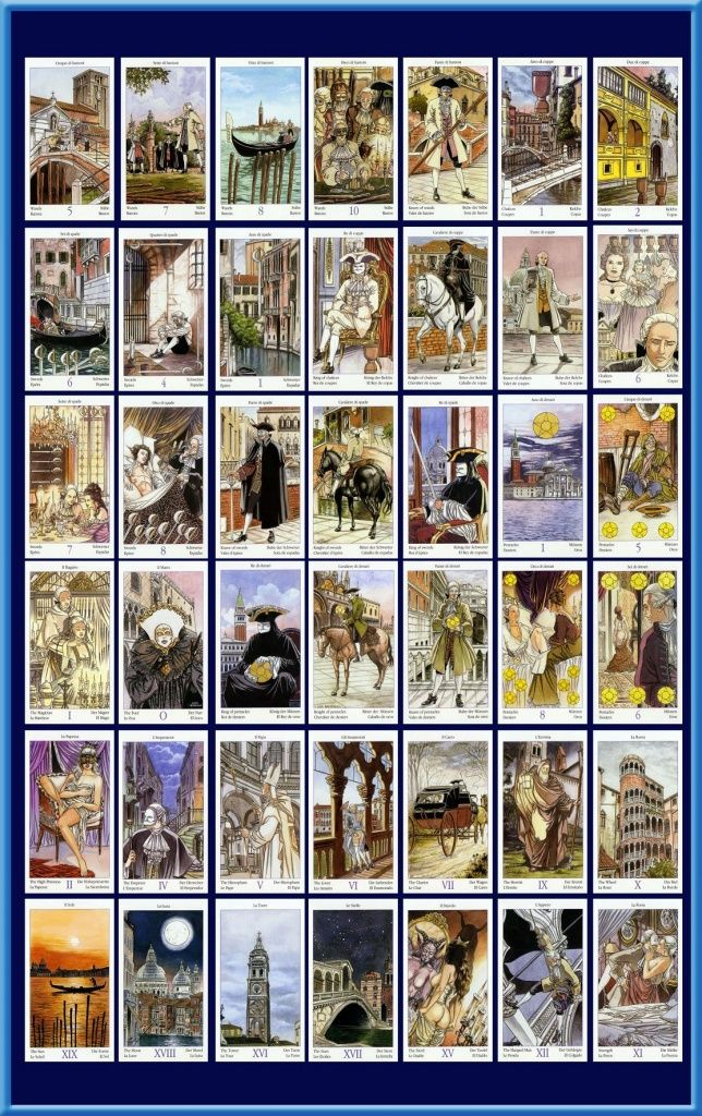 Tarot Of Casanova Tarot Karty Tarota I Magia