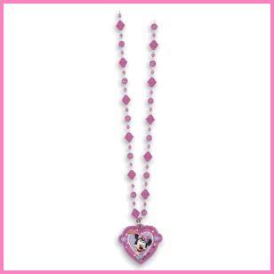 Minnie Mouse Party Favor Necklace, $.99 Cdn each.