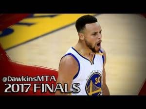 Stephen Curry Triple-Double in 2017 Finals Game 2 vs Cavs – 32 Pts, 11…