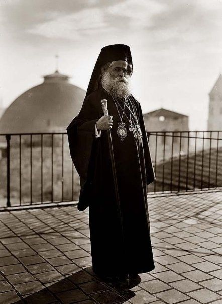 #Palestine - The Greek Patriarch of Jerusalem, 1940 | Community Post: 31 Unbelievable Photographs Israel Doesn't Want You To See!