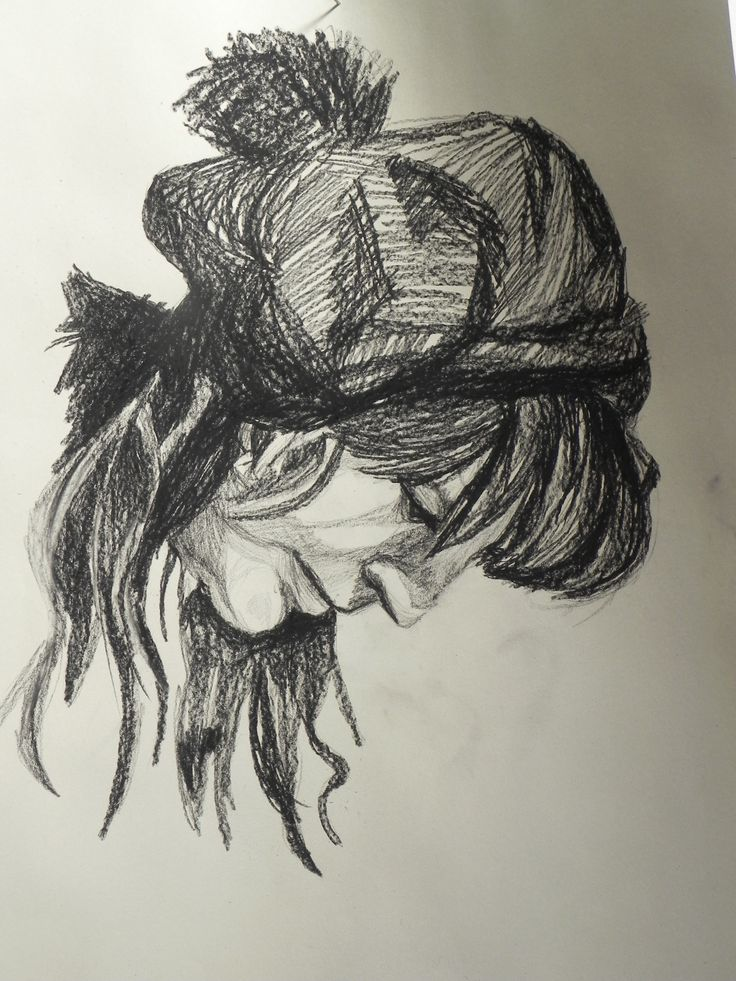 Jaime Cowdry. Pastel on paper. A1 size. March 2012.