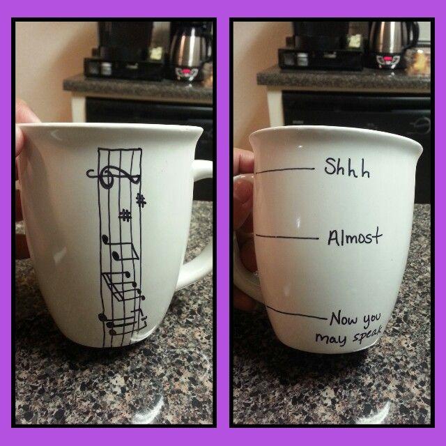 Diy Band Director Mug | When did I become this crafty ...