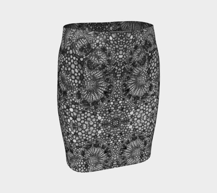 Pencil Skirt womens girls Monochrome Custom Print Stretch Eco poly skirt Knee length Allover print black and white casual summer skirt
