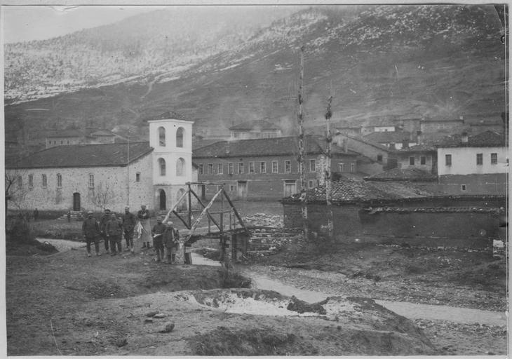 Village of Breznitsa (Vatohori), Greece (1917)